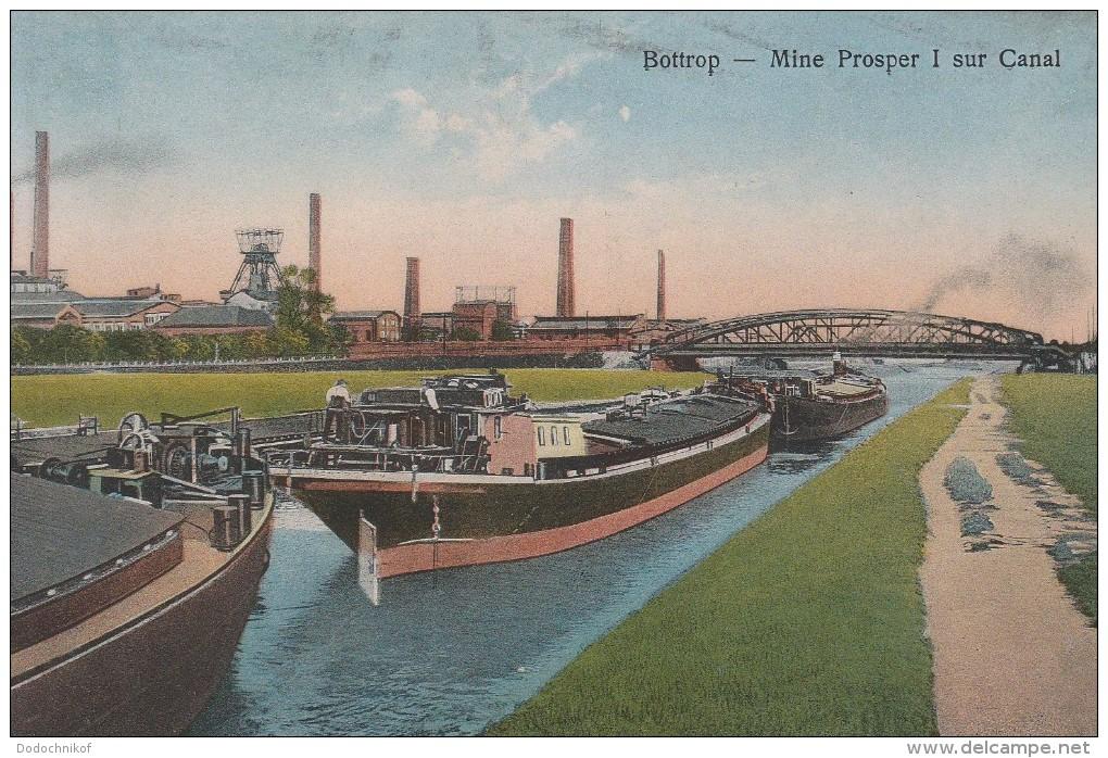 Bottrop - Mine Proper I Sur Canal - 1923 - Bottrop