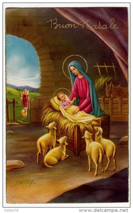 BUON NATALE - NATIVITA - 1959 - Formato Piccolo - Natale