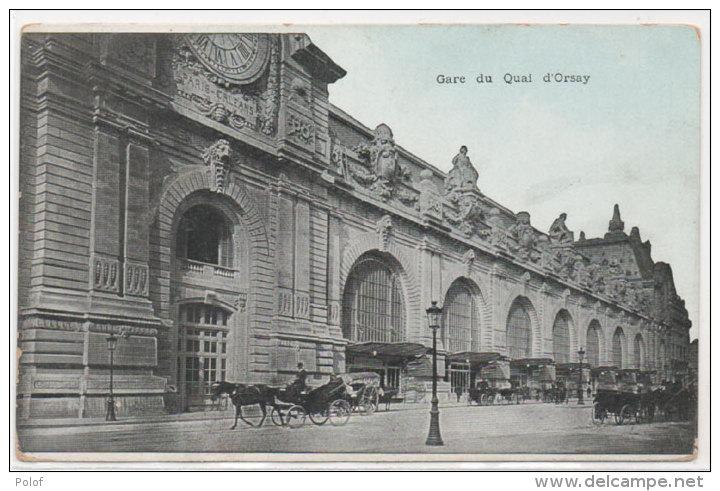 PARIS - Gare Du Quai D' Orsay       (79745) - Cartes Postales