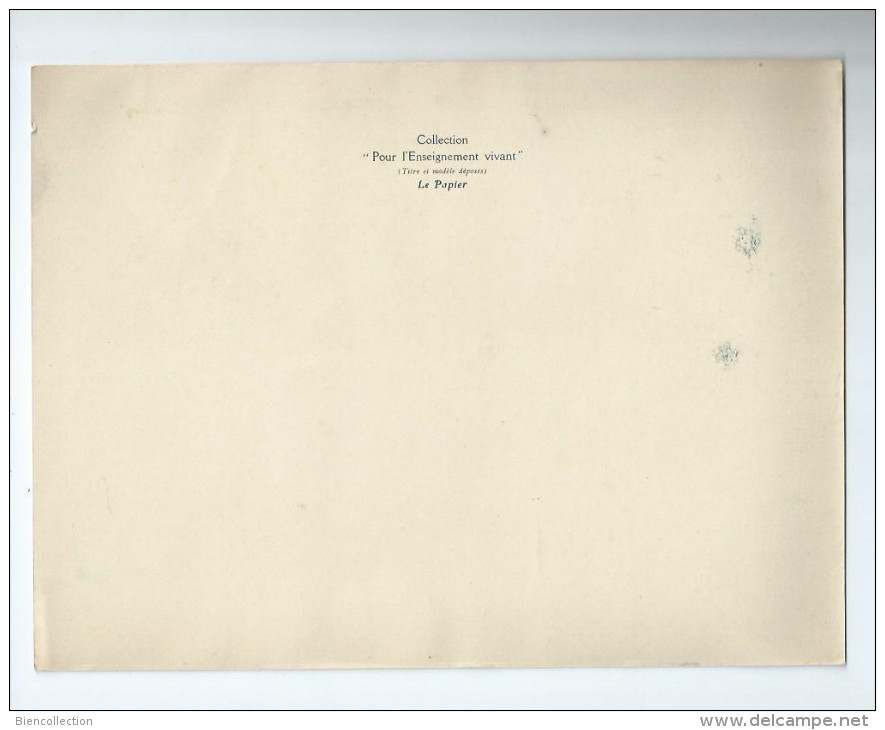 Isère.Collection Pour L´enseignement Vivant,format 24cm X 18cm.Transport Du Bois Par Cable.Usine De Lancey - Other Municipalities