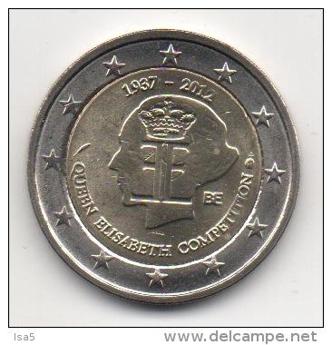 BELGIQUE - 2€ Commémorative 2012 - UNC - Neuve - Belgique