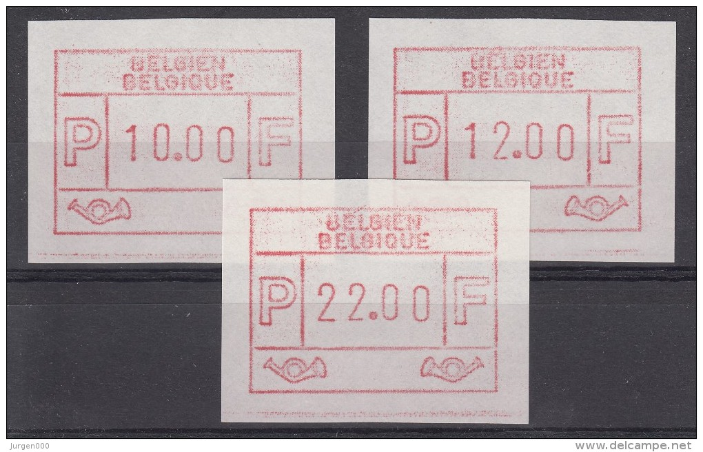 ATM58 **, Cote = 80 € (X22180) - Vignettes D'affranchissement
