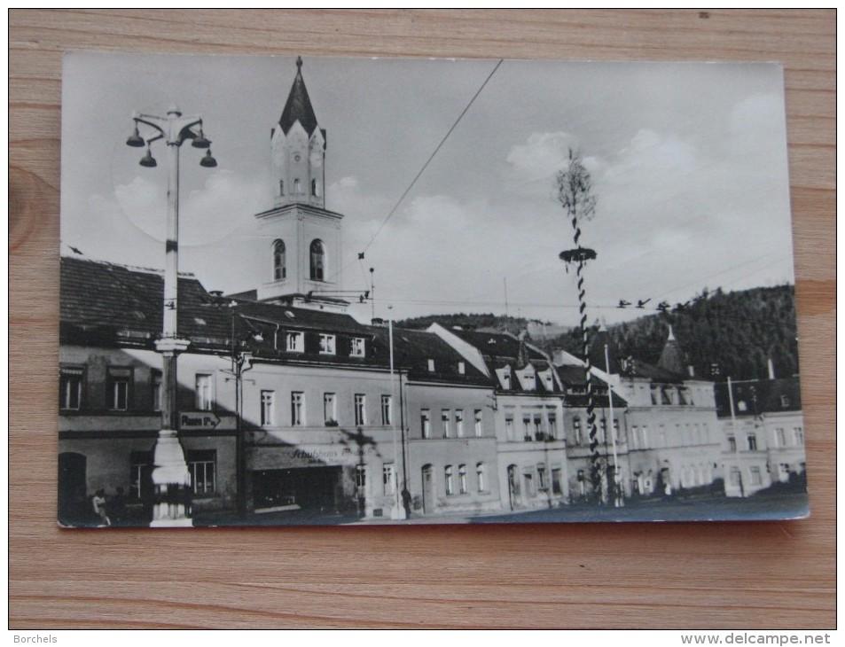 AK 201 - Elsterberg Im Vogtland - Markt - Postalisch Gelaufen - Gut Erhalten - Plauen