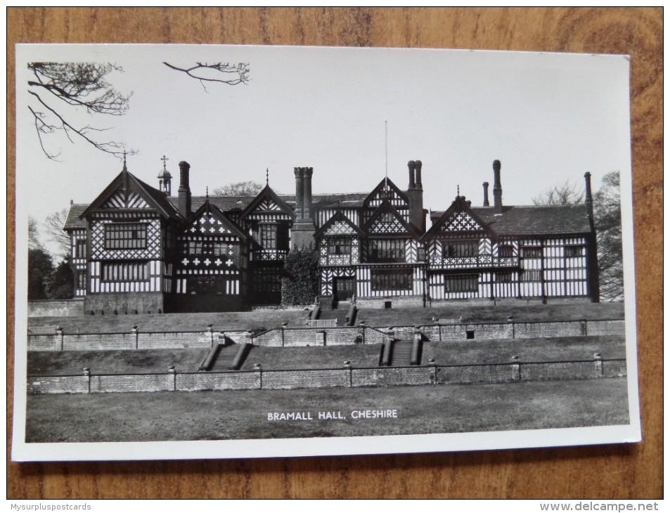 46601 POSTCARD: CHESHIRE: Bramhall Hall, Cheshire. GUARANTEED REAL PHOTOGRAPH. - Other