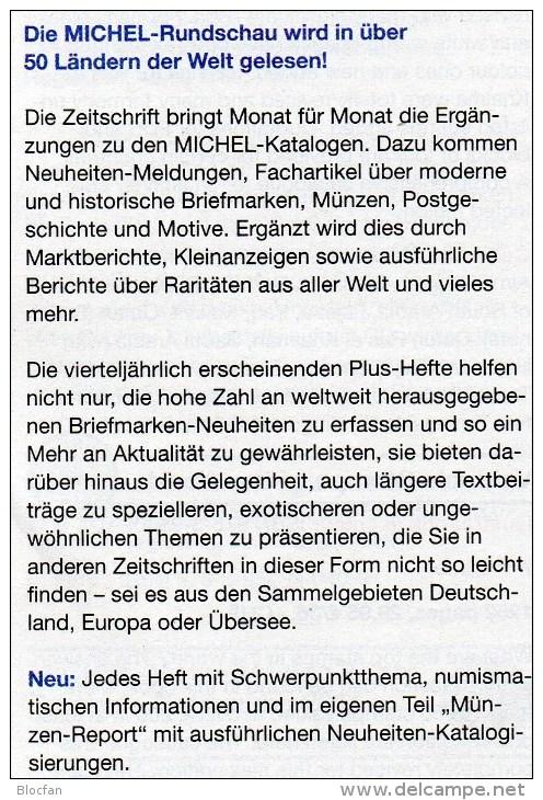 Briefmarken Rundschau MICHEL 8/2015 Neu 6€ New Stamps+coins World Catalogue And Magacine Of Germany ISBN 9 783954 025503 - Sonstige Sprachen
