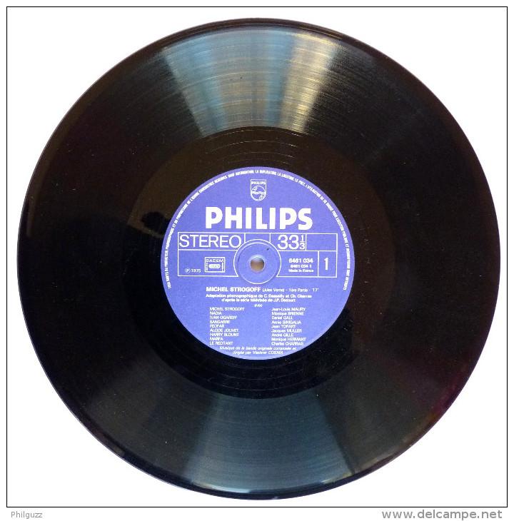 Disque Vinyle 33T 25 Cm Michel STROGOFF Jules Verne (2) - VLADIMIR COSMA PHILIPS 6461034 1975 - Disques & CD