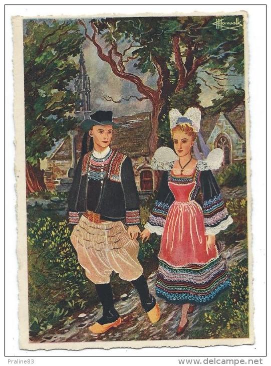 EN PARCOURANT LA BRETAGNE,  PONT AVEN, LA CHAPELLE DE TREMALO - Finistère 29 - Illustrateur, Charles Homualk - Europe