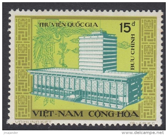 South Vietnam 1974 National Library. Mi 558-559 MNH - Vietnam