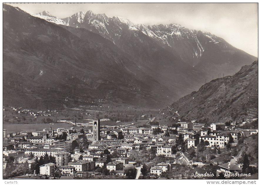 Italie - Sondrio - Panorama - Sondrio