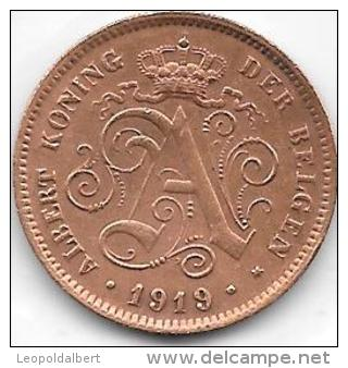 2 CENTIMES Albert I 1919 FL - 02. 2 Centimes