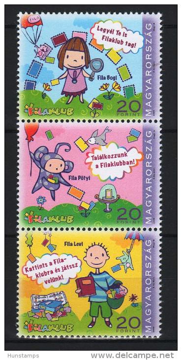 Hungary 2009. Phila Village / Youth / Folk Tales - Nice Set MNH (**) Michel: 5395-5397 - Ungarn