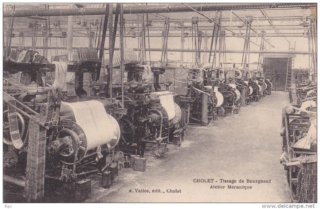 Cholet (49) - Tissage De Bourgneuf - Atelier Mécanique - Cholet