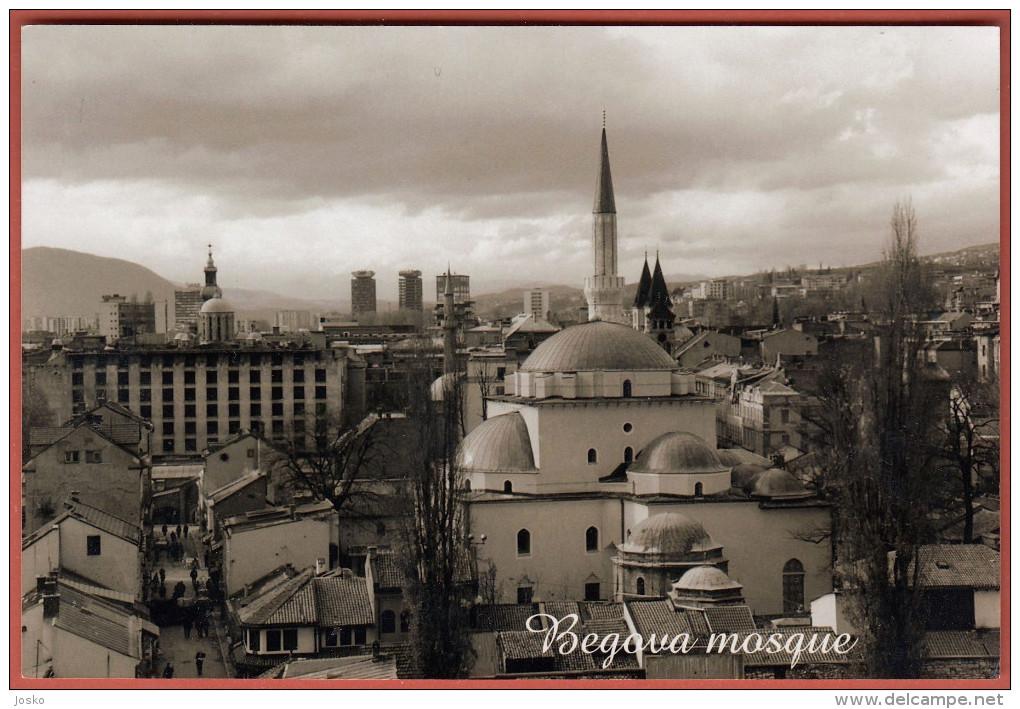 SARAJEVO - Begova Mosque ( Original Art Photo ) * Islam Religion Mosquée Moschee Moschea Mezquita - Religion & Esotericism