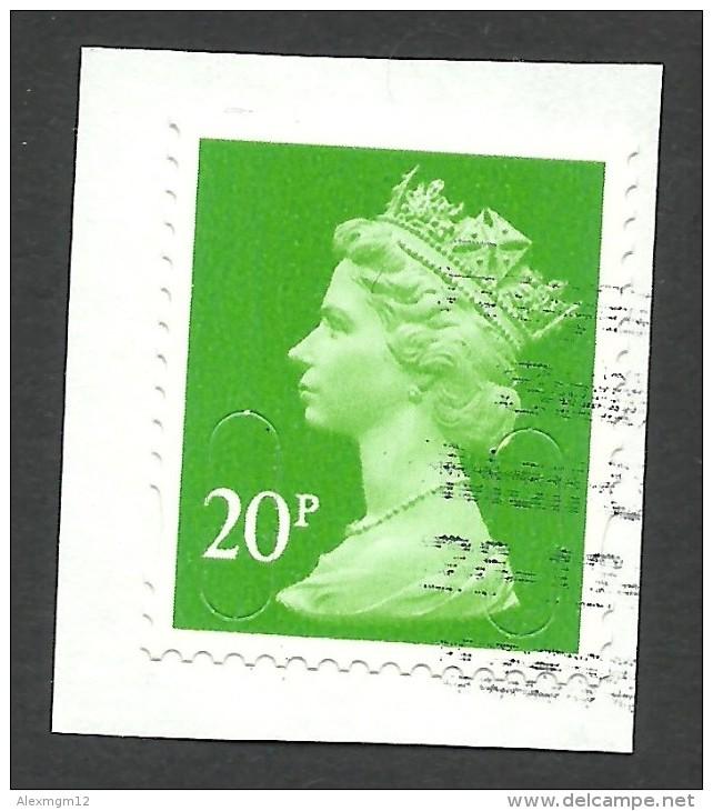 Great Britain, 20 P, Used - 1952-.... (Elizabeth II)