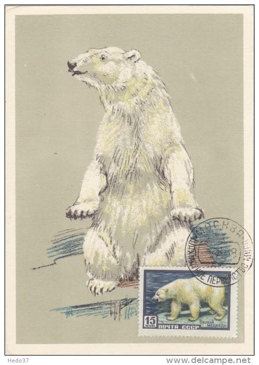 URSS Carte Maximum - Ours Polaire - Russie & URSS