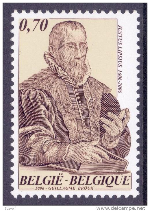 Belgium**JUSTUS  LIPSIUS-REFORMATION HUMANIST&PHILOLOGIST-MNH-2006 - Belgium