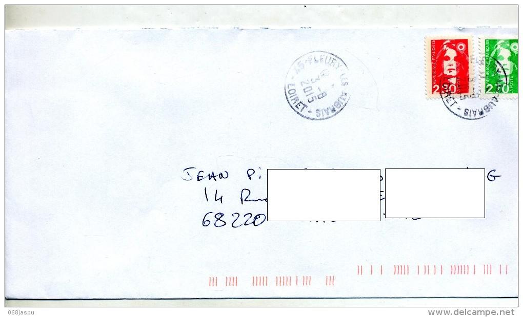 Lettre Cachet Fleury - Marcophilie (Lettres)