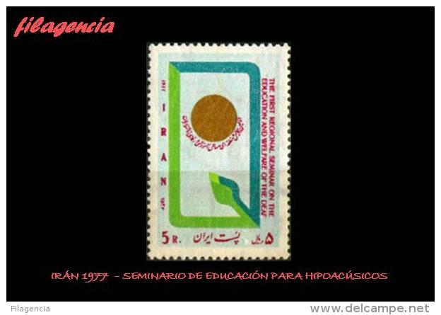ASIA. IRÁN MINT. 1977 SEMINARIO DE EDUCACIÓN PARA HIPOACÚSICOS - Irán