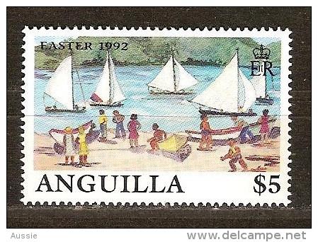 Anguilla 1992 Yvertn° 790 *** MNH Cote 10 Euro Bateaux Boten Ships - Anguilla (1968-...)
