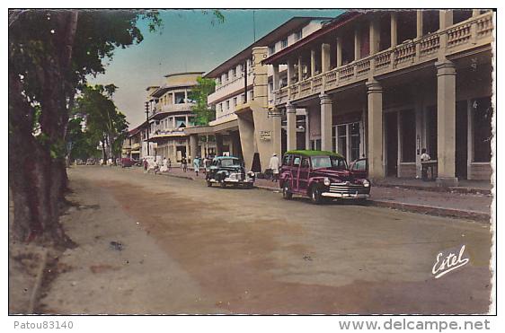 AFRIQUE. COTE D IVOIRE.  ABIDJAN.  LE BOULEVARD ANTONETTI - Côte-d'Ivoire