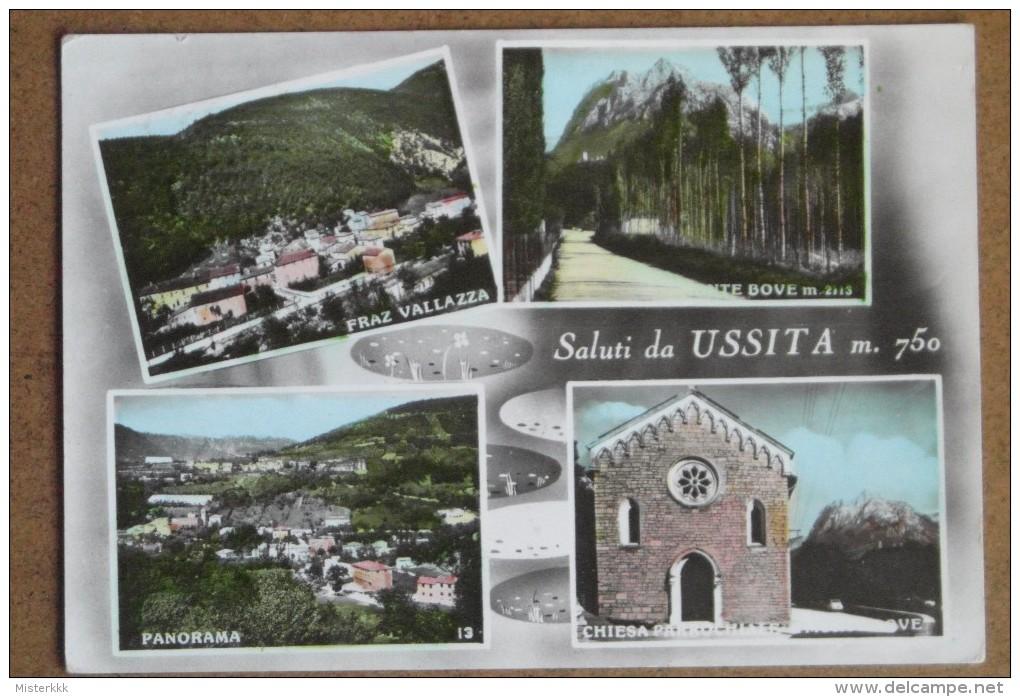 USSITA  VEDUTE  -1961  -BELLA - Macerata