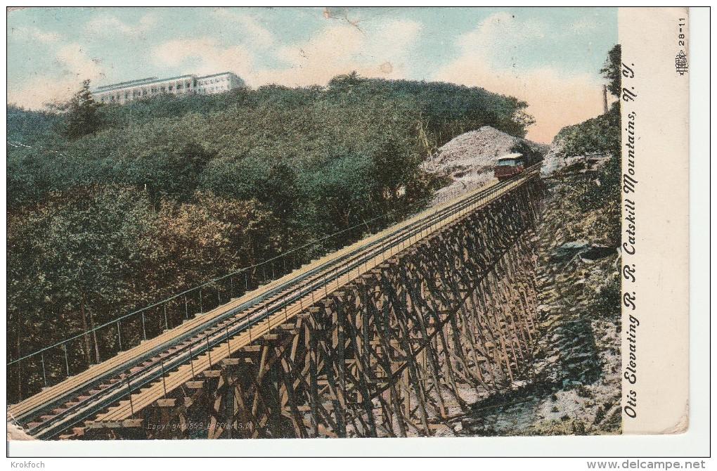Otis Elevating Catskill Mountains - NY - Railway - 1907 - Catskills