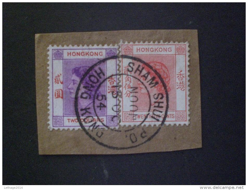 STAMPS HONG KONG 1954 Queen Elizabeth II - Hong Kong (...-1997)