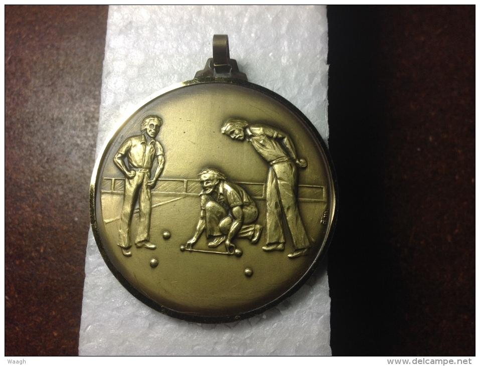 Medaille Petanque - Pétanque