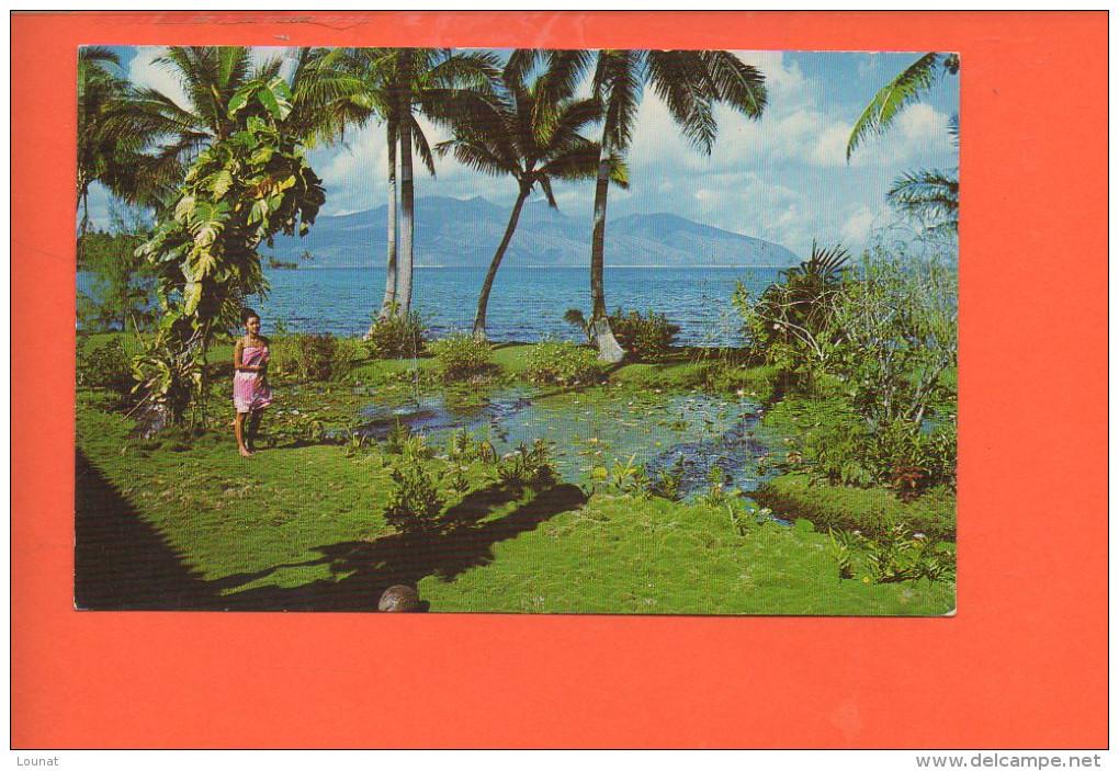 TAHITI - Scenery At Mataia Looking At Little Tahiti - Polynésie Française