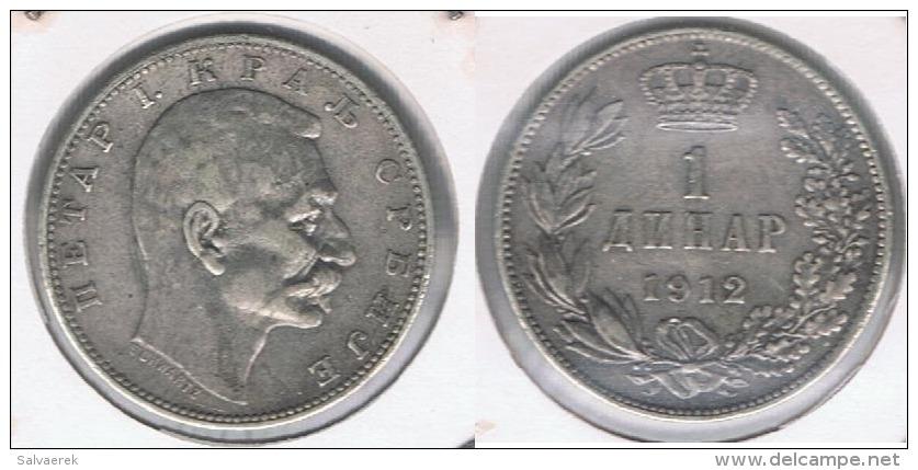 SERVIA DINAR 1912 PLATA SILVER Y - Serbia