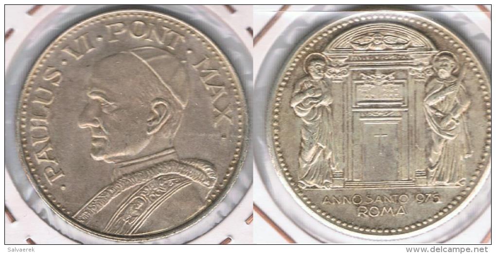 VATICANO MEDALLA PABLO VI AÑO SANTO 1975 PLATA SILVER Y - Vaticano (Ciudad Del)