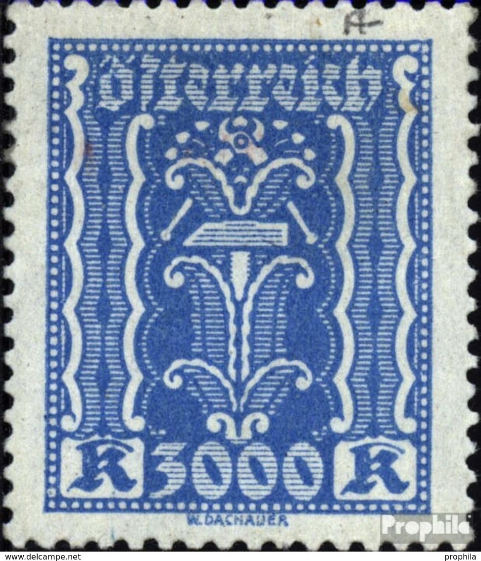 Österreich 396 Postfrisch 1922 Freimarken Kornähre Und Hammer - 1918-1945 1. Republik