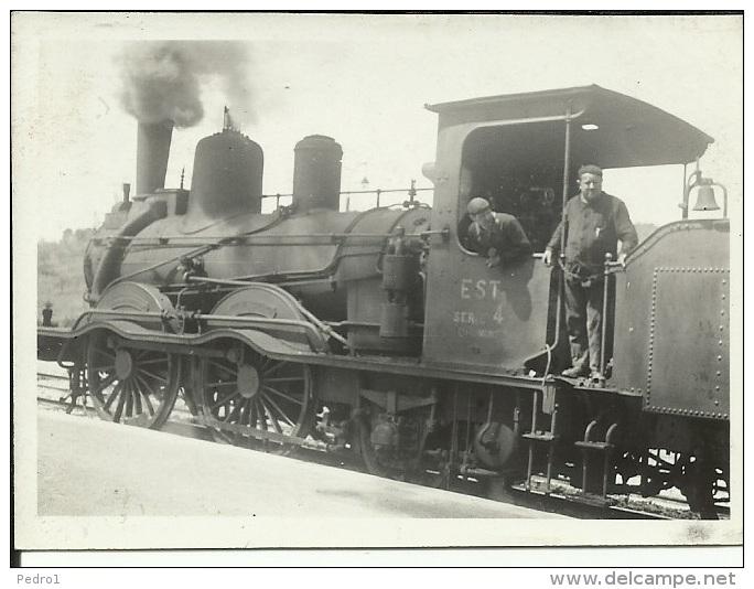 Photo - Bricon - Locomotive N° 478 De La Compagnie Des Chemins De Fer De L´Est - 6 Mai 1937 - France