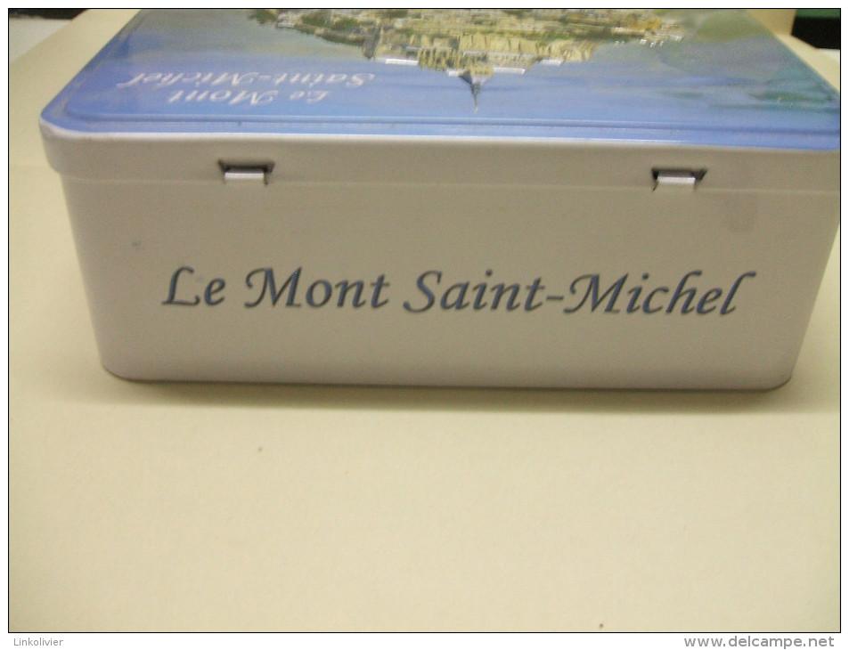 BOITE Métal LE MONT SAINT-MICHEL En Relief - Blason Normandie - Scatole