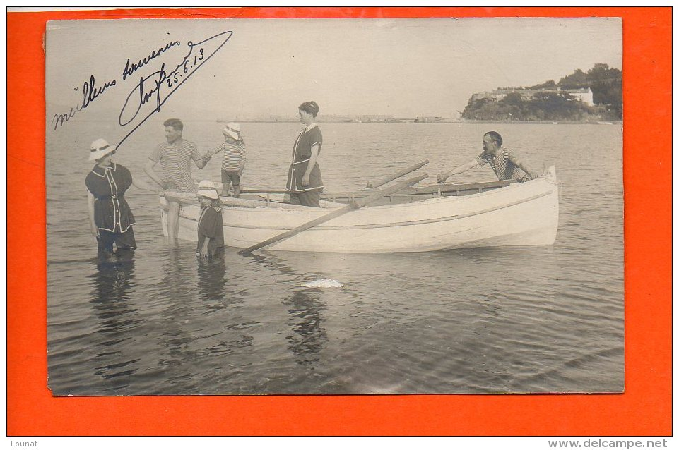 CHARENTON Au Dos - Année 1913 Carte Photo - à Identifier - Cartes Postales