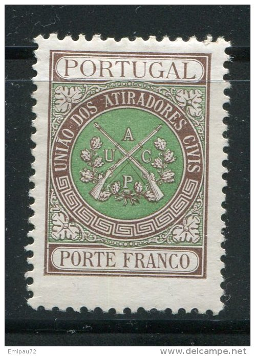 PORTUGAL- Franchise Y&T N°3- Neuf Avec Charnière * Belle Cote!! - Franchise