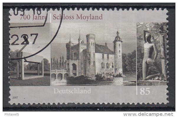 Duitsland - 700 Jahre Schloss Moyland, Bedburg-Hau - Gebruikt/gebraucht/used - Michel 2602 - Gebraucht