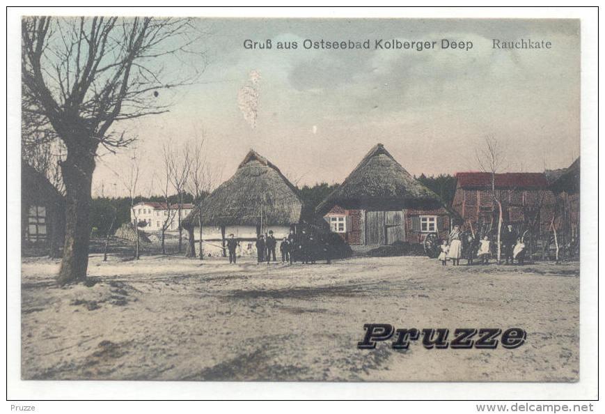 Kolberger Deep 1913, Rauchkate - Pommern
