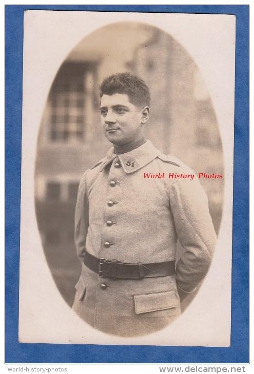 CPA Photo - Portrait D'un Militaire Du 31e Régiment - Militaria