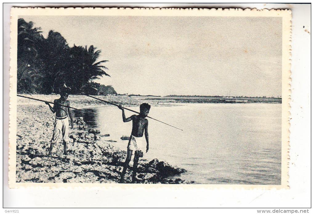 MICRONESIA - CAROLINES, Speerfischer, Ethnik - Völkerkunde - Mikronesien