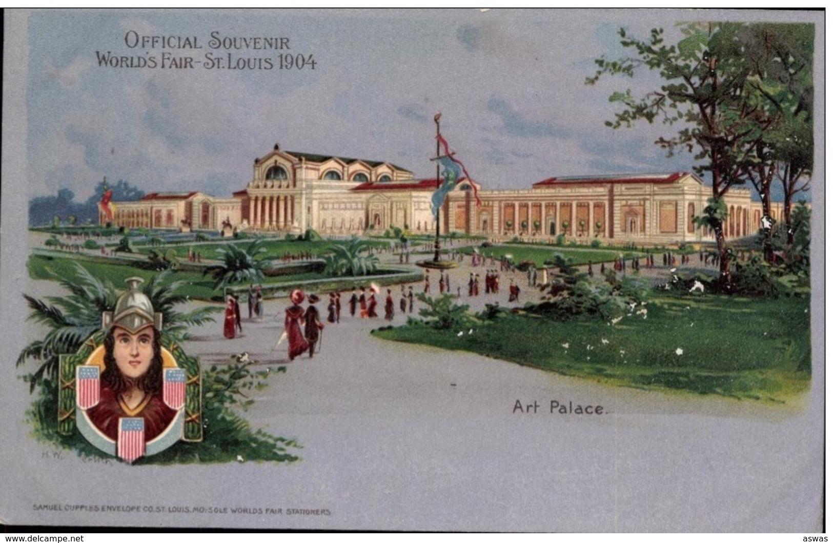 ART PALACE, WORLD'S FAIR, ST LOUIS, MISSOURI, AMERICA (USA) 1904 ~ U/B - Exhibitions
