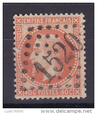 NAPOLEON N° 31 OBL COTE 25€ - 1863-1870 Napoléon III Lauré