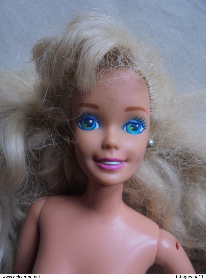 Poupée Mannequin BARBIE Corps 1993 MATTEL China Tête MATTEL 1973 - Barbie
