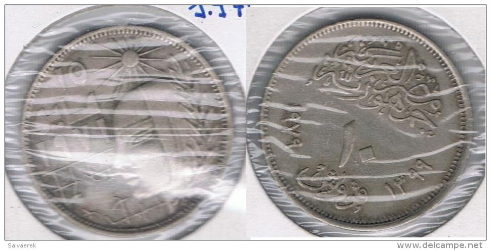 EGIPTO 10 PIASTRAS A IDENTIFICAR  X2 - Egipto