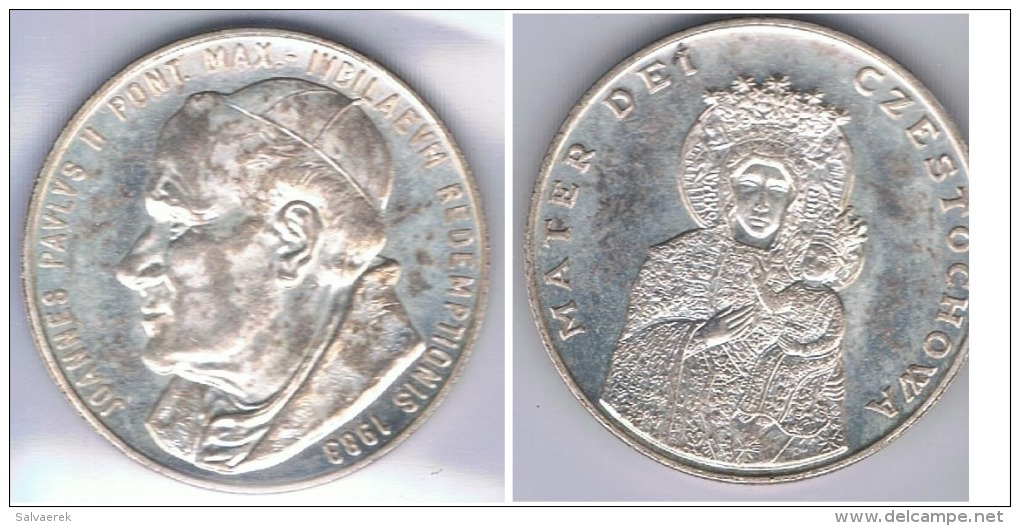 VATICANO JUAN PABLO II 1983 PLATA SILVER X - Vaticano (Ciudad Del)