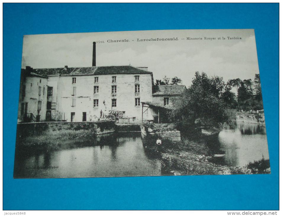 16 ) La Rochefoucauld - Braun N° 1544 - Minoterie Rouyer Et La Tardoire - Autres Communes