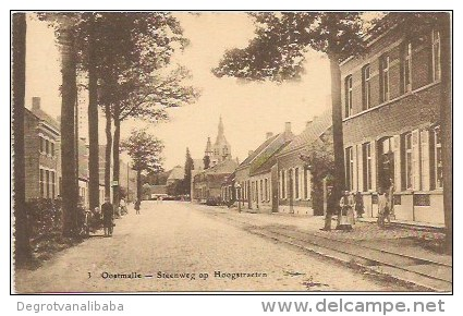 OOSTMALLE:  Steenweg Op Hoogstraeten - Malle