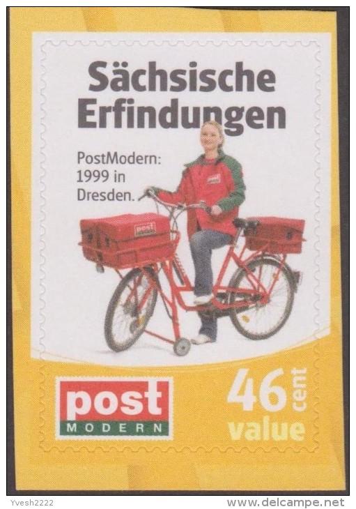 Allemagne 26/3/2008. Poste Locale Post Modern De Dresde. Inventions Saxonnes. Factrice à Vélo (46 C) - Vélo