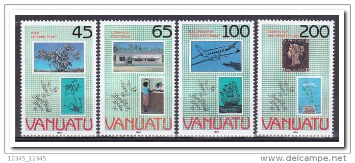 Vanuatu 1990, Postfris MNH, Stamp On Stamp - Vanuatu (1980-...)