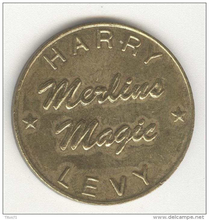 Jeton Harry Levy - Merlins Magic - B - Showboat - Non Classés